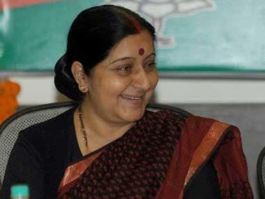 File image of Sushma Swaraj. AFP