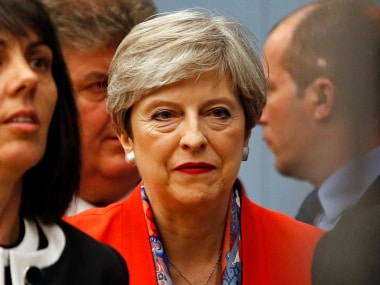 Theresa May. AP