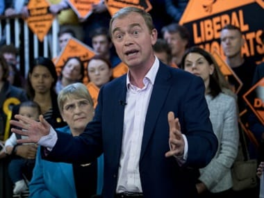 File image of Tim Farron. AFP