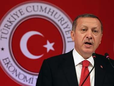 File image of Turkish president Recep Tayyip Erdogan. AP