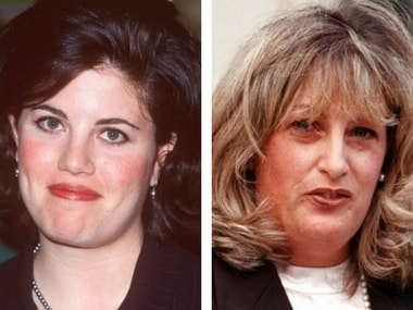 Lewinsky and Tripp. Image from Twitter.