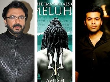 Sanjay Leela Bhansali - Immortals of Meluha - Karan Johar Images via Facebook