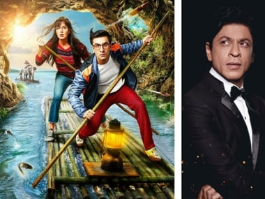 Jagga Jasoos and Shah Rukh Khan Images via Facebook