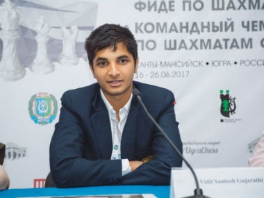World Team Chess Championship 2017: Vidit Gujrathi shows mettle, but India blunder in initial rounds