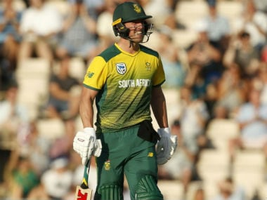 India vs South Africa: AB de Villiers returns to Proteas squad for remaining ODIs