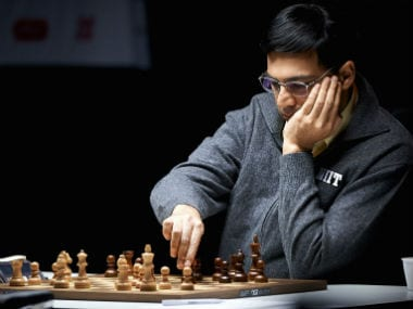 File photo of Viswanathan Anand. AFP