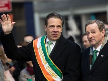 File image of New York governor Andrew Cuomo. Getty Images