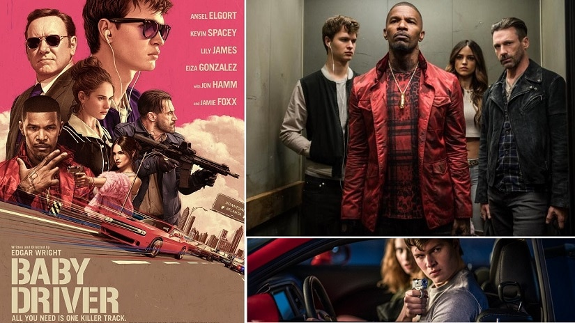 Poster And Stills From Baby Driver Images Via Twitter
