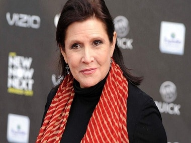 Carrie Fisher. AP Photo