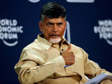 File image of Chandrababu Naidu. Reuters