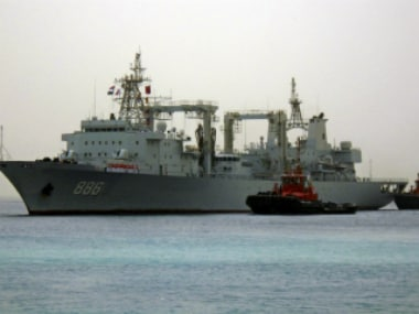 Chinese navy warships arrive at the seaport of Port Sudan (representational photo). Reuters