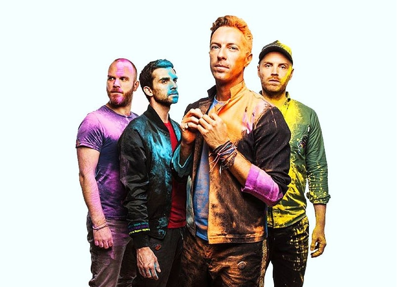 Coldplay. Image from Twitter.