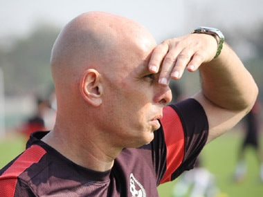 File photo of Indian football coach Stephen Constantine. AIFF