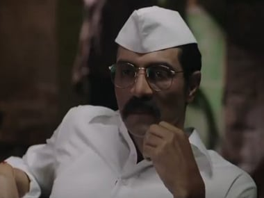 Arjun Rampal in a still from Daddy. YouTube