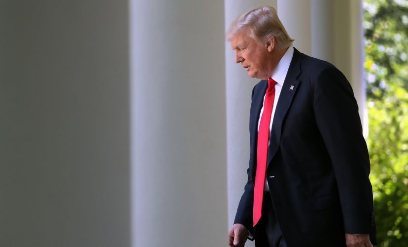 Trump said that it seems unfair for the welfare of the US to be part of the deal. AP