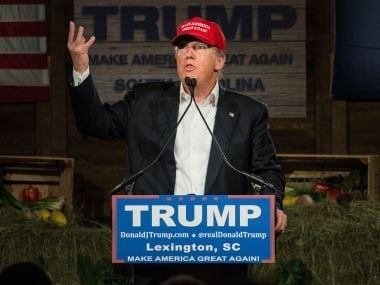 File image of Donald Trump. Getty Images