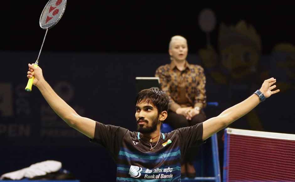 Kidambi Srikanth rallied from behind with some intense smashes to gain a slender lead, finish the match and clinch his maiden Indonesia Open Superseries 21-11, 21-19. AP