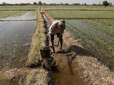 Farmland with water supply. Reuters/File Photo