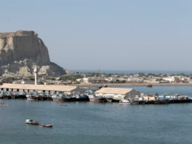 A view of the old port in Gwadar. Reuers