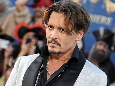 Johnny Depp. Image from Getty Images.