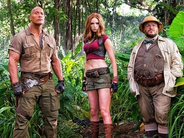 Jumanji: Welcome to the Jungle dominates China box office with $40 million