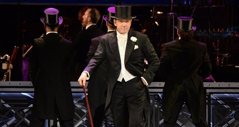 Kevin Spacey opens the 71st Tony Awards. Image from Twitter.