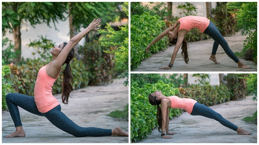 Yoga isn't just about stretching. Images featuring (and courtesy) Lamya Arsiwala/The Yoga House