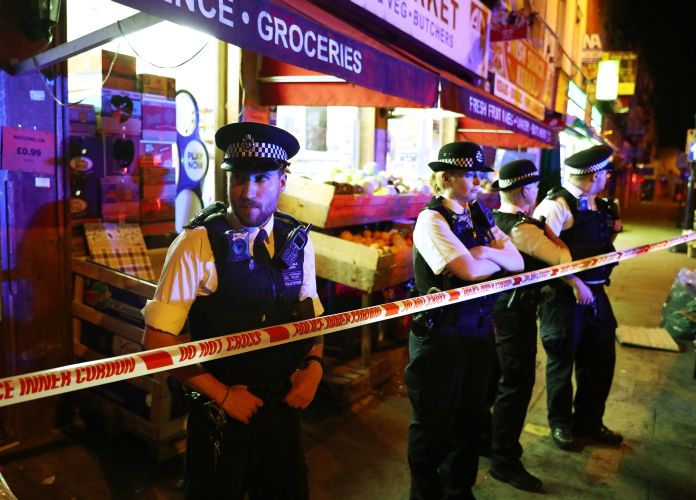 """Police said in a statement there were """"a number of casualties"""". Reuters"""