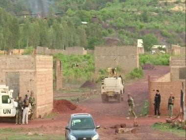 File image of the attack on Le Campement Kangaba resort in Mali. Reuters