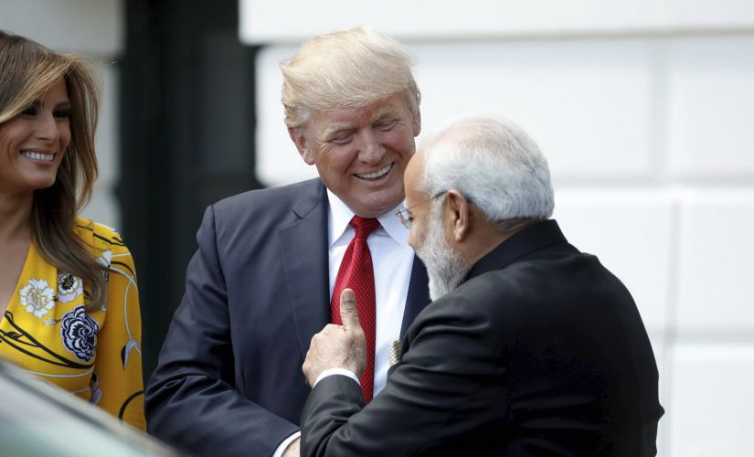 While Donald Trump's relations with some traditional allies had a rocky start, he and Narendra Modi appeared to strike up an immediate rapport in their first meeting. AP