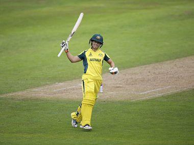 Australian Opener Nicole Bolton hit an unbeaten century. Twitter/@ICC