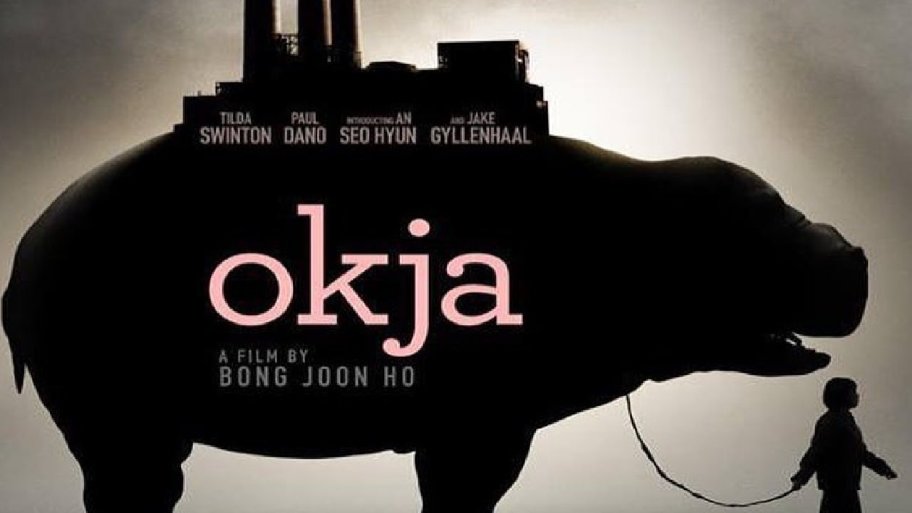 The poster of Okja, a Netflix film nominated for Palm de Or at Cannes Film Festival 2017. Twitter