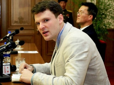 File image of Otto Warmbier. AP