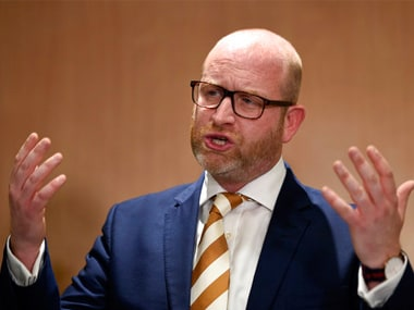 Paul Nuttall, leader of UKIP, stepped down after the right wing party flopped at the elections. AP
