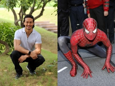 Tiger Shroff - Spider-Man. Image from Getty Images.