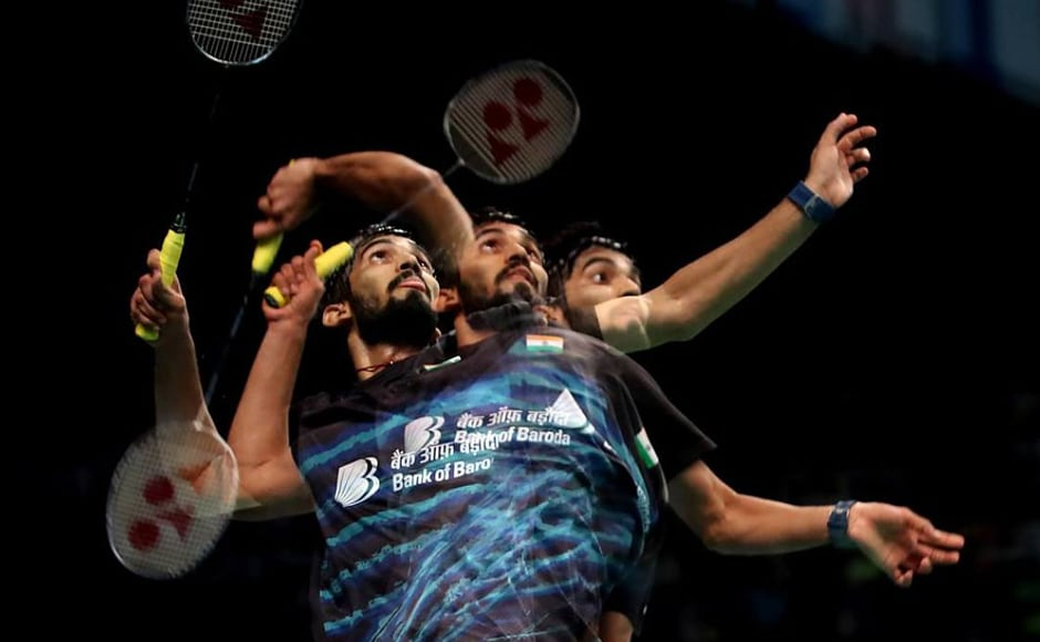 Kidambi beat higher ranked Dane Jan O Jorgensen in a tight match that saw the Indian shuttler exhibit his outstanding attacking prowess to win 21-15 20-22 21-16. Twitter / @srikidambi