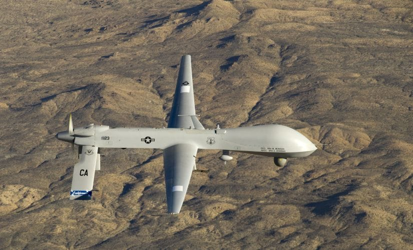 The Indian Navy wants the unarmed surveillance drones to keep watch over the Indian Ocean. Reuters