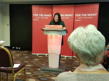 Labour Party candidate Preet Kaur Gill. Twitter @jennychidley1