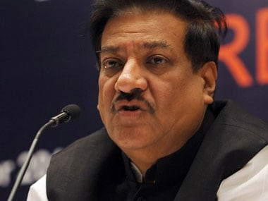 File image of Prithviraj Chavan. AFP