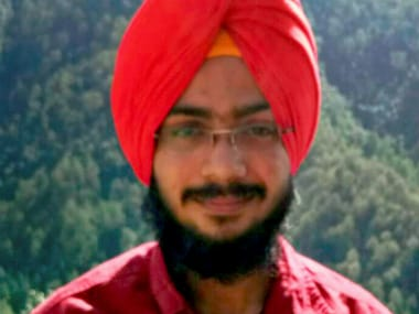 File photo of Navdeep Singh who got first rank in National Eligibility-cum-Entrance Test (NEET) 2017 on Friday. PTI