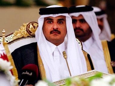 Qatar's Emir Sheikh Tamim bin Hamad Al-Thani. AP