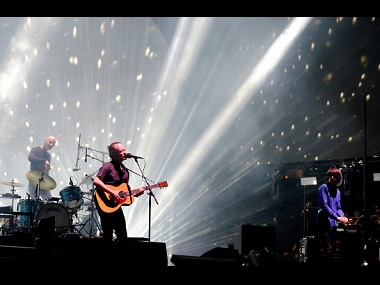 Radiohead at Coachella 2017. Image from Getty Images.