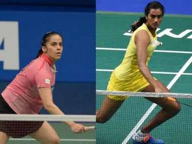 File image of Saina Nehwal (L) and PV Sindhu. AFP