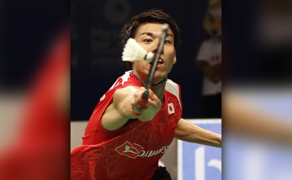 Though Kidambi Srikanth breezed through the first game against Japanese finalist Kazumasa Sakai, the second game was a nail-biting game with either of them not allowing the other to gain an upper hand. AP