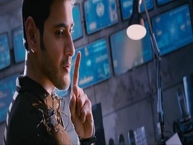 Mahesh Babu in a still from SPYDER. YouTube