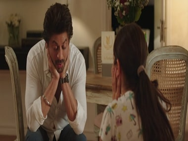 Shah Rukh Khan and Anushka Sharma in a still from Jab Harry Met Sejal. YouTube