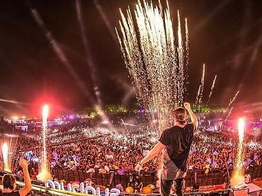 Sunburn festival in Goa. Image from Instagram.