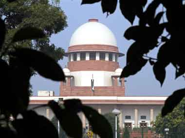 Representational image of the Supreme Court of India. Reuters.