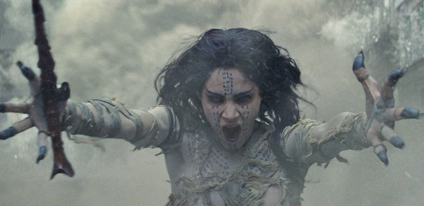 Sofia Boutella in The Mummy. Still from the film
