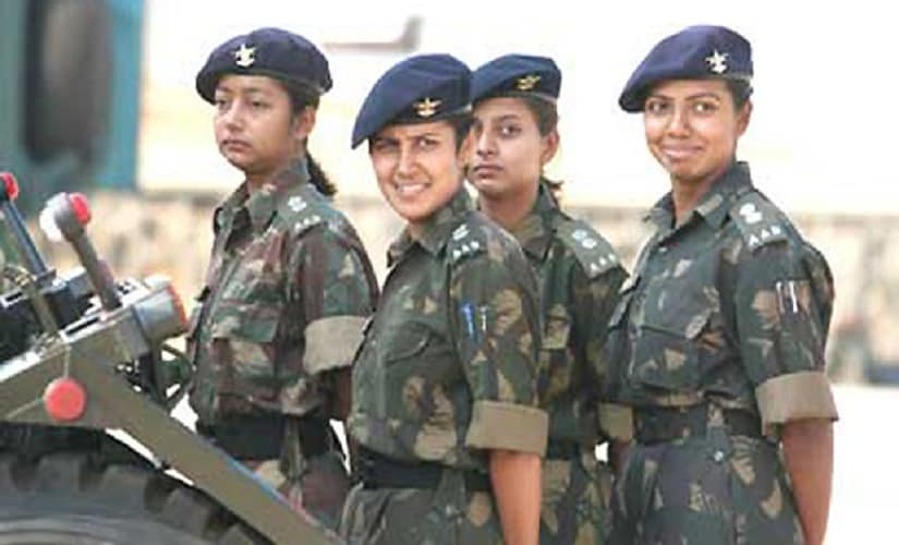 Women in Indian Army. PTI photo